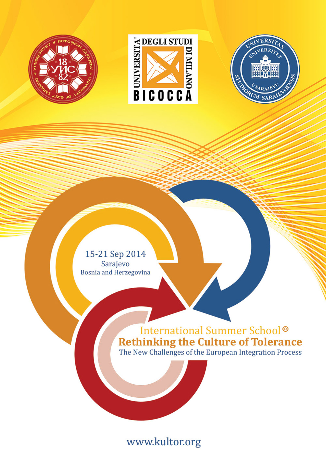 The International Summer School 'Rethinking the Culture of Tolerance' 2014