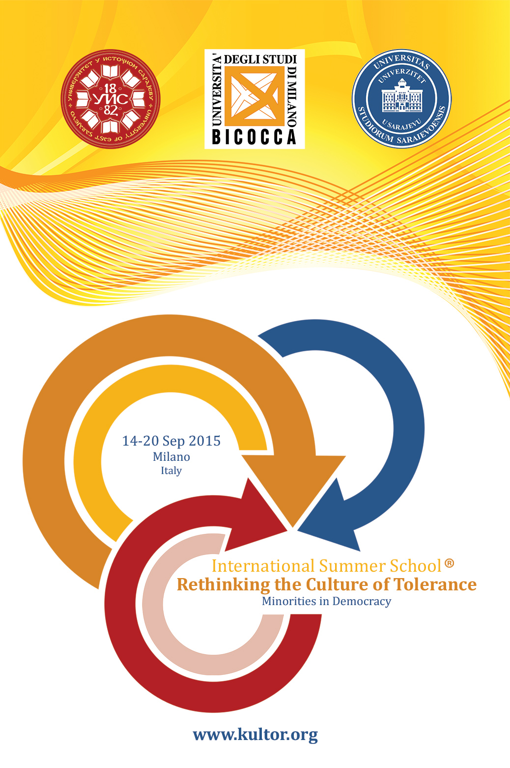 The International Summer School 'Rethinking the Culture of Tolerance' 2015